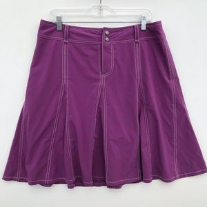 Athleta Whatever Skort Pleated Skirt 12 #815